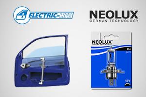 Lâmpadas Neolux e Elevadores de Vidro Electric Life